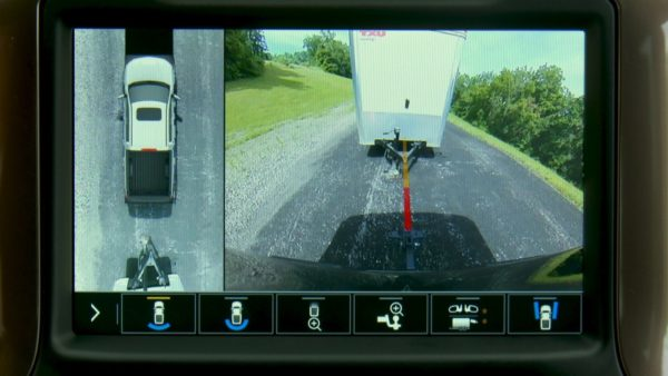 Pickup trucks are using apps, cameras, and other tech to make towing easier