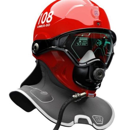 This Augmented Reality Helmet Helps Firefighters See Through Smoke to Save Lives