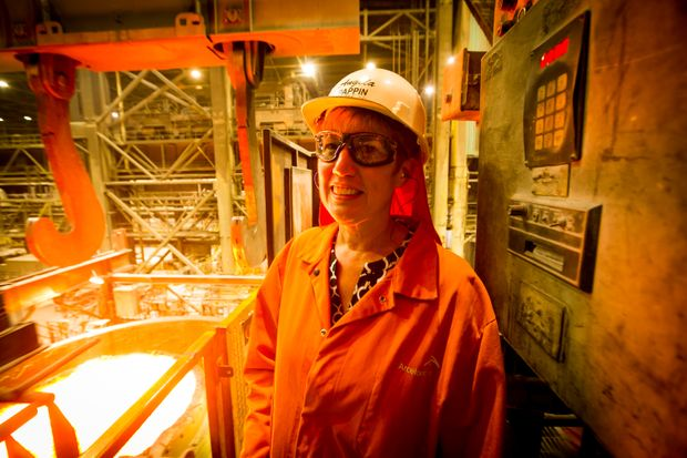 Smart tech takes on the liquid-steel manufacturing challenge