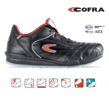 Cofra — Pantof de protectie cu bombeu aluminiu si lamela Meazza